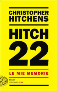 Copertina del libro Hitch 22 di Christopher Hitchens