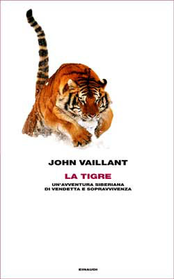 Copertina del libro La tigre di John Vaillant