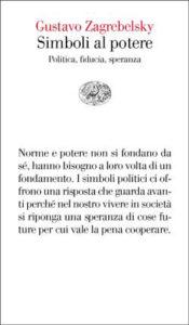 Copertina del libro Simboli al potere di Gustavo Zagrebelsky