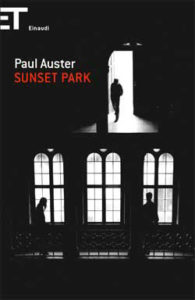 Copertina del libro Sunset Park di Paul Auster