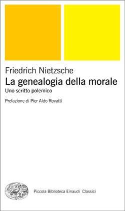 Copertina del libro La genealogia della morale (Einaudi) di Friedrich Nietzsche