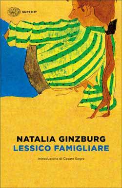 Copertina del libro Lessico famigliare di Natalia Ginzburg