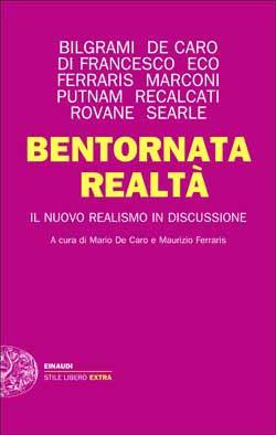 Copertina del libro Bentornata realtà