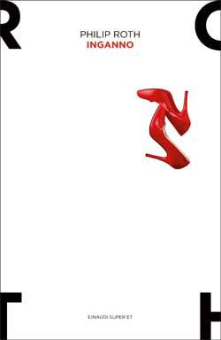 Copertina del libro Inganno di Philip Roth