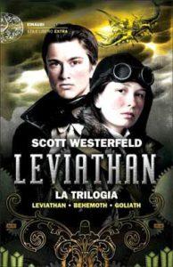 Copertina del libro Leviathan. La trilogia di Scott Westerfeld