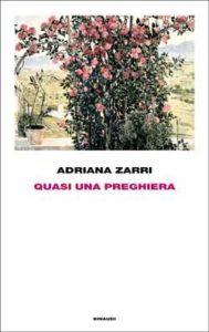 Copertina del libro Quasi una preghiera di Adriana Zarri