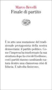 Copertina del libro Finale di partito di Marco Revelli
