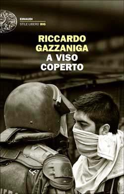 Copertina del libro A viso coperto di Riccardo Gazzaniga