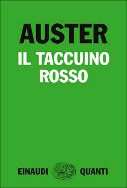 Copertina del libro Il taccuino rosso di Paul Auster