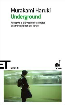 Copertina del libro Underground di Murakami Haruki