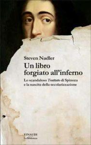 Copertina del libro Un libro forgiato all'inferno di Steven Nadler