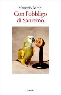 Copertina del libro Con l'obbligo di Sanremo di Maurizio Bettini