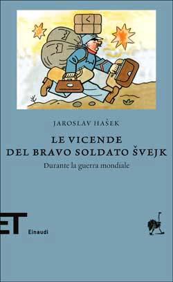 Copertina del libro Le vicende del bravo soldato Svejk di Jaroslav Hasek