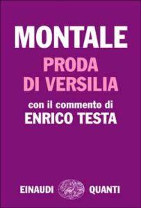 Copertina del libro Proda di Versilia di Eugenio Montale