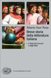 Copertina del libro Breve storia della letteratura italiana I di Alberto Asor Rosa