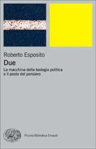 Copertina del libro Due di Roberto Esposito