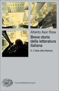 Copertina del libro Breve storia della letteratura italiana II di Alberto Asor Rosa