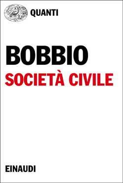 Copertina del libro Società civile di Norberto Bobbio