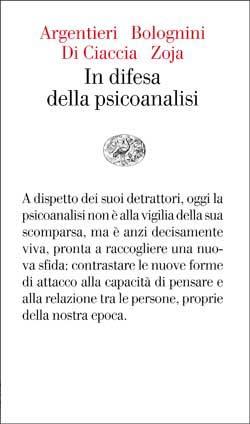 Copertina del libro In difesa della psicoanalisi