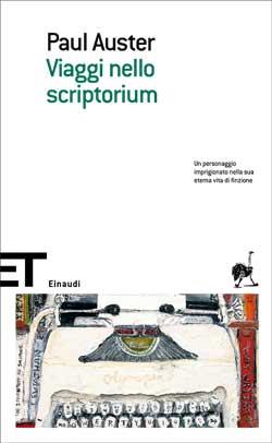 Copertina del libro Viaggi nello scriptorium di Paul Auster