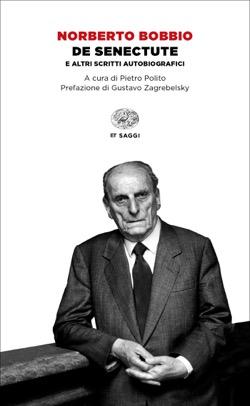 Copertina del libro De senectute di Norberto Bobbio