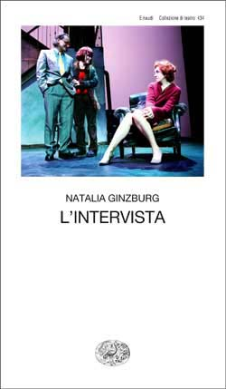 Copertina del libro L'intervista di Natalia Ginzburg
