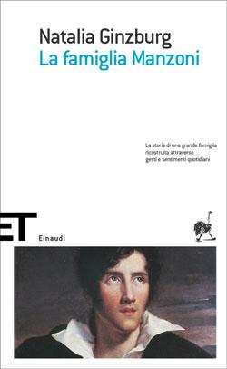 Copertina del libro La famiglia Manzoni di Natalia Ginzburg