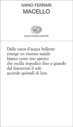 Copertina del libro Macello di Ivano Ferrari