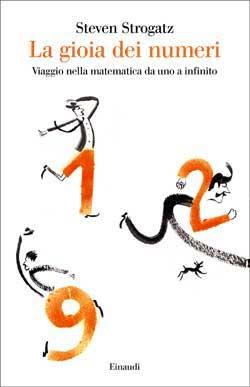 Copertina del libro La gioia dei numeri di Steven Strogatz