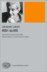 Copertina del libro Altri scritti di Jacques Lacan