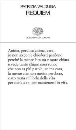 Copertina del libro Requiem di Patrizia Valduga