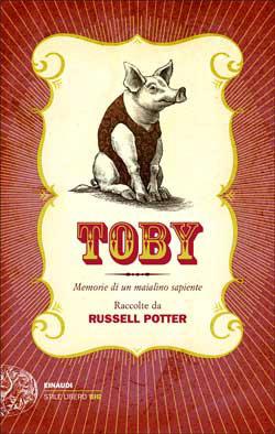 Copertina del libro Toby di Russell Potter