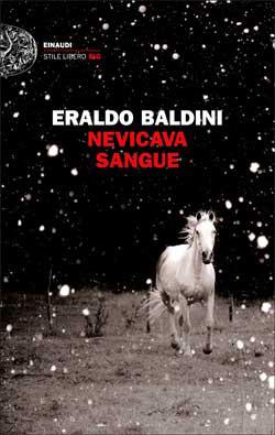 Copertina del libro Nevicava sangue di Eraldo Baldini