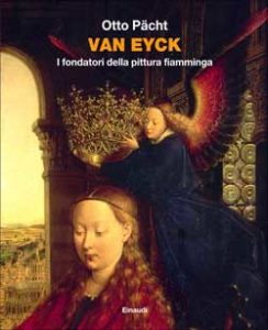 Copertina del libro Van Eyck di Otto Pächt