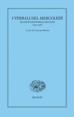 Copertina del libro I verbali del mercoledì. 1953-1963 di VV.