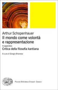 Copertina del libro Il mondo come volontà e rappresentazione di Arthur Schopenhauer