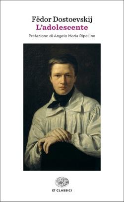 Copertina del libro L'adolescente (Einaudi) di Fëdor Dostoevskij