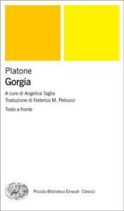 Copertina del libro Gorgia di Platone