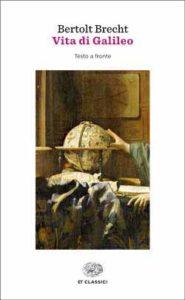 Copertina del libro Vita di Galileo di Bertolt Brecht