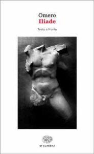 Copertina del libro Iliade di Omero