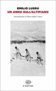 Copertina del libro Un anno sull'Altipiano di Emilio Lussu