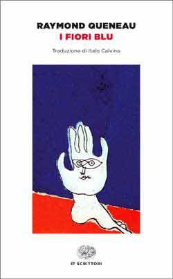 Copertina del libro I fiori blu di Raymond Queneau