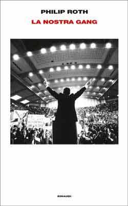 Copertina del libro La nostra gang di Philip Roth