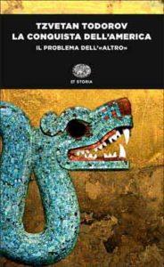 Copertina del libro La conquista dell'America di Tzvetan Todorov