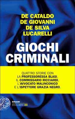 Copertina del libro Giochi criminali