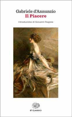 Copertina del libro Il piacere di Gabriele D'Annunzio