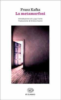 Copertina del libro La metamorfosi di Franz Kafka