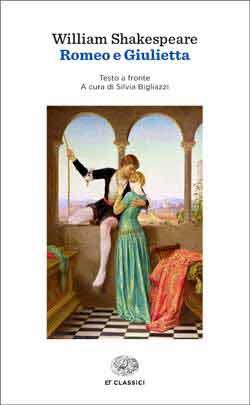 Copertina del libro Romeo e Giulietta di William Shakespeare