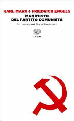 Copertina del libro Manifesto del Partito Comunista di Karl Marx, Friedrich Engels