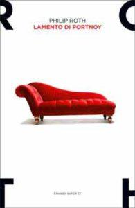 Copertina del libro Lamento di Portnoy di Philip Roth